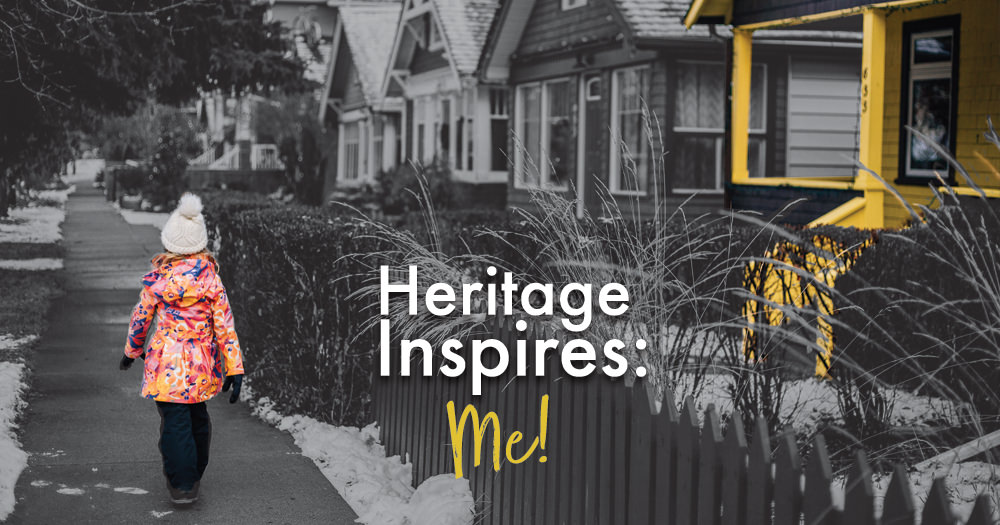 Heritage inspires: Me